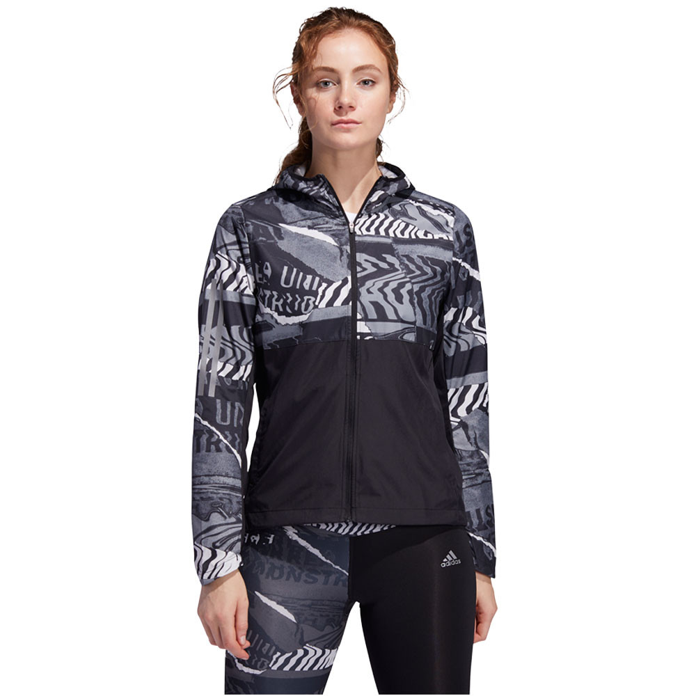 adidas Own The Run City Clash Women's Jacket - SS20