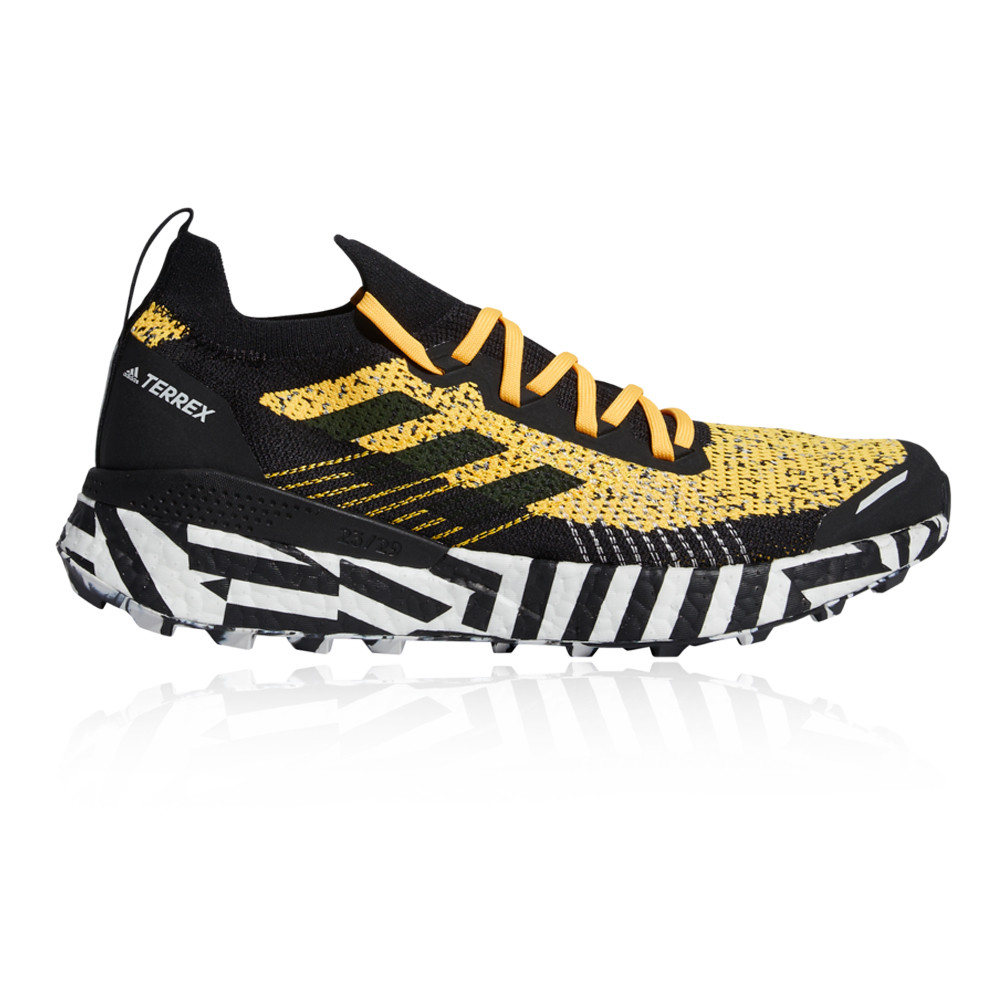 Details about adidas Mens Terrex Two Ultra Parley Trail Running Shoes Trainers Sneakers Black
