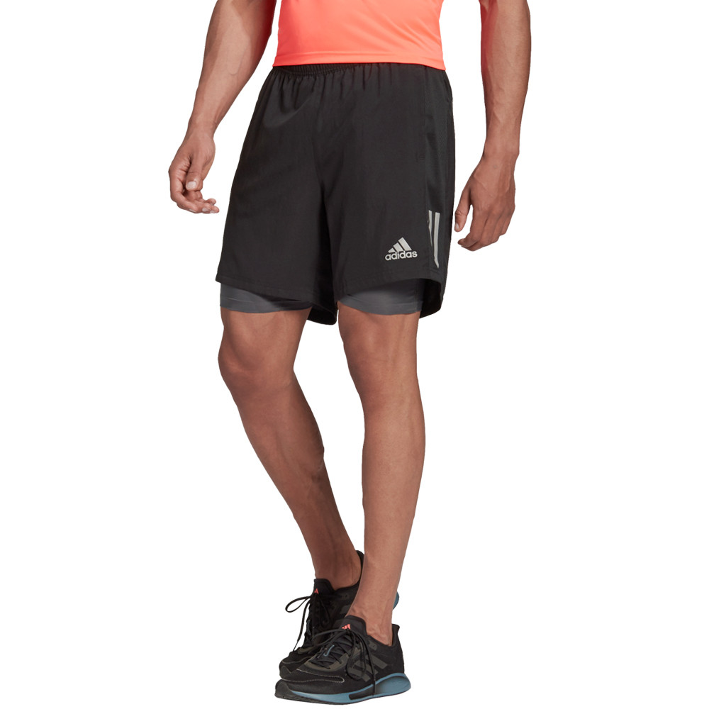 adidas Own The Run 5 Inch 2-in-1 Running Shorts - AW20
