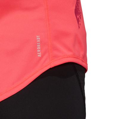adidas Run It 3 Stripe Women's Running Vest - AW20