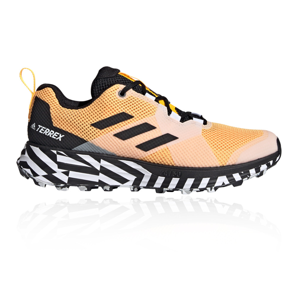 Volver a llamar lento combinación  adidas Mens Terrex Two Trail Running Shoes Trainers Sneakers Orange Sports  | eBay