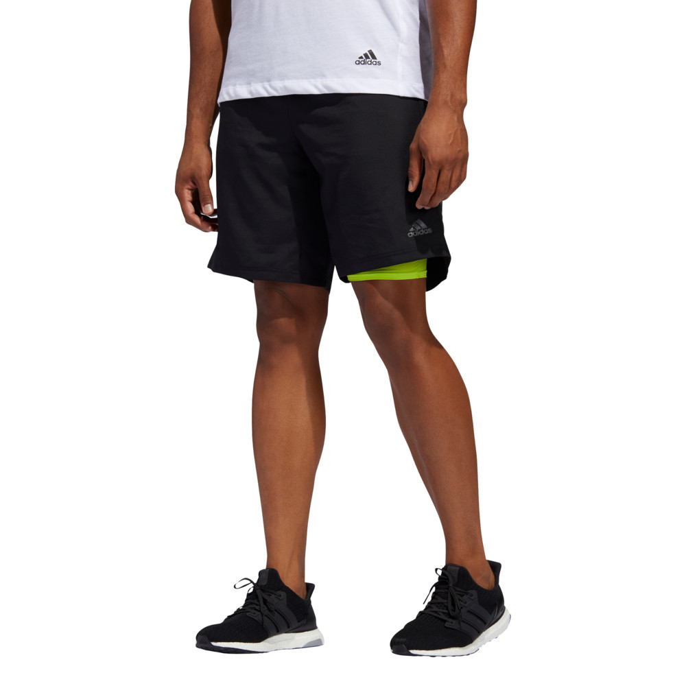 adidas Own The Run 2 in 1 5 Inch Shorts - SS20