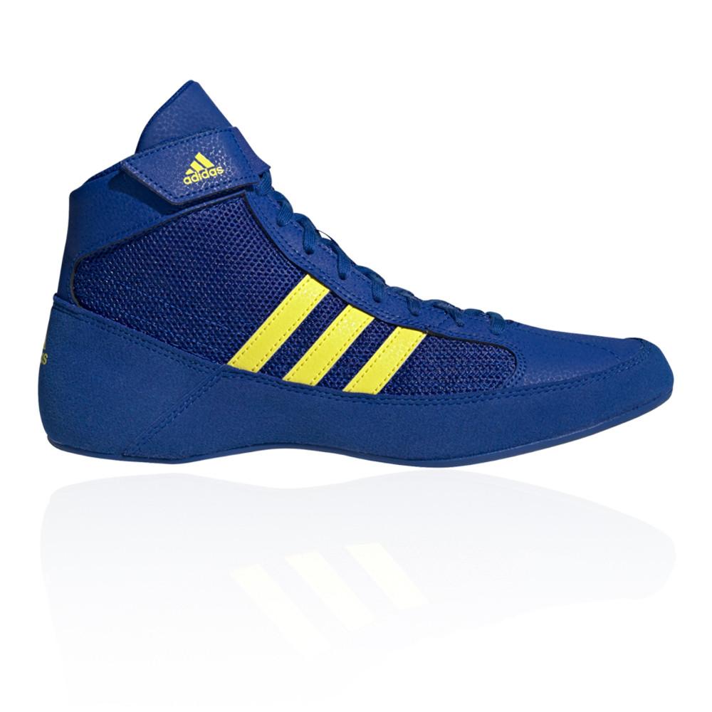 adidas men's havoc wrestling boots blue