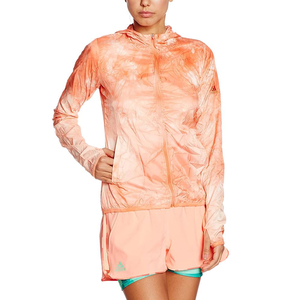 adidas Run Pack-Dye para mujer chaqueta de running