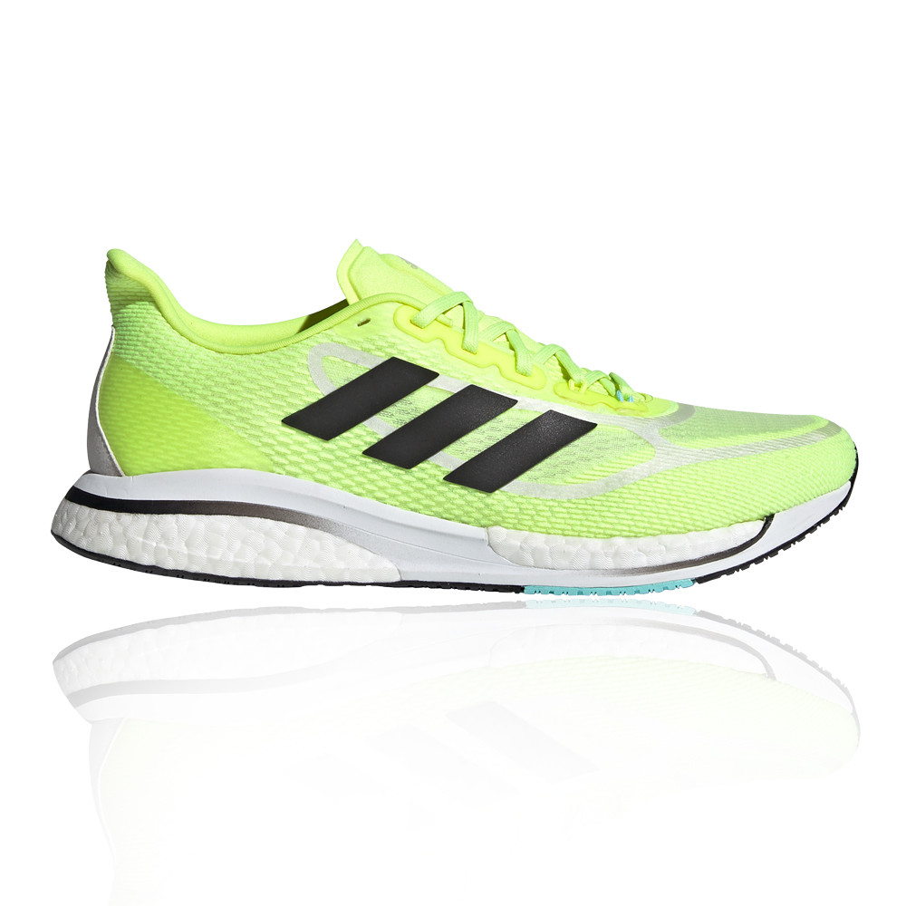 adidas Mens Supernova Plus Running Shoes Trainers Sneakers Yellow ...