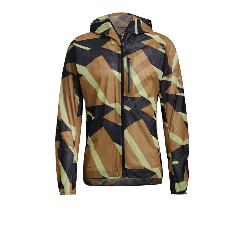 Adidas Agravic AOP Rain Jacket - AW21
