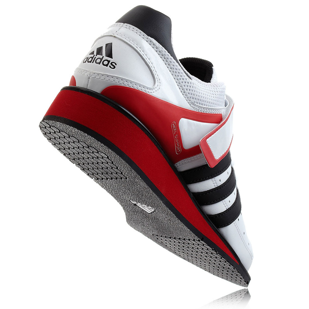 Adidas Power Perfect II Weightlift Shoes White ADI5541