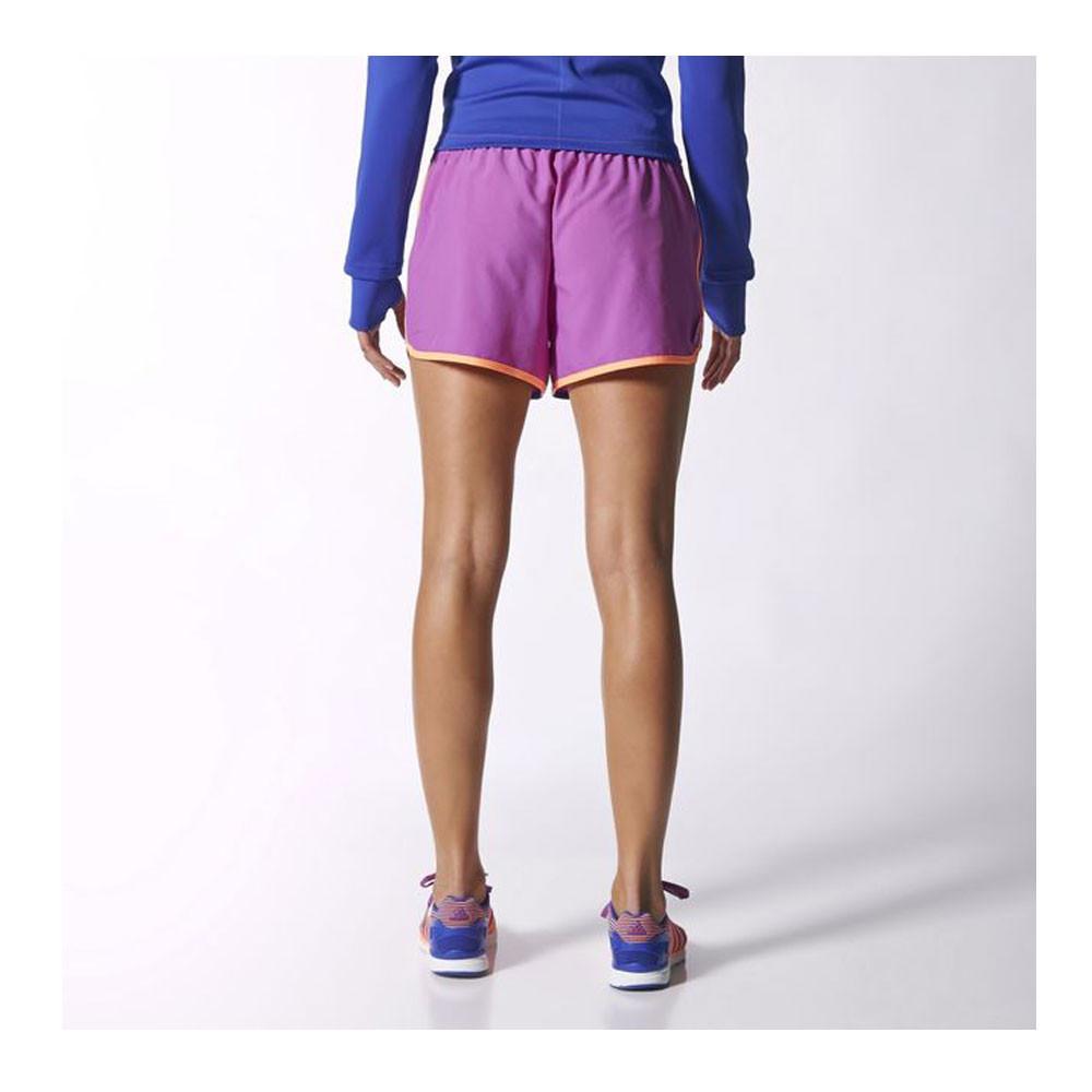 Adidas m10 women 39 s running shorts for Women s fishing shorts