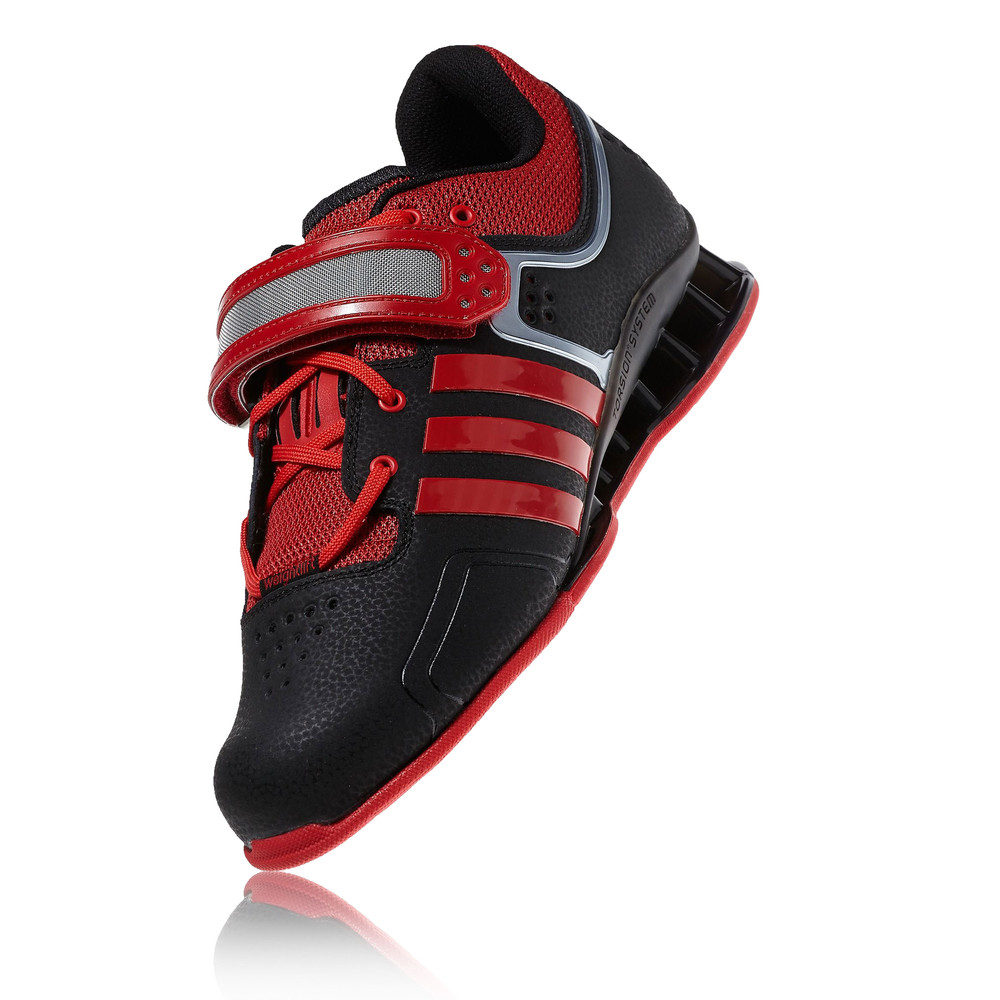 adidas adipower weightlifting shoes red and white