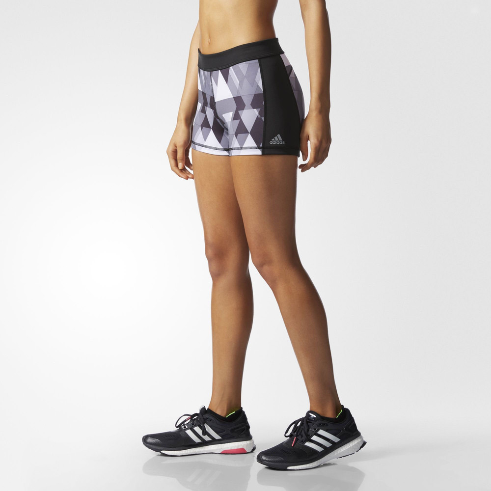 adidas techfit women 39 s 3 printed short tight. Black Bedroom Furniture Sets. Home Design Ideas