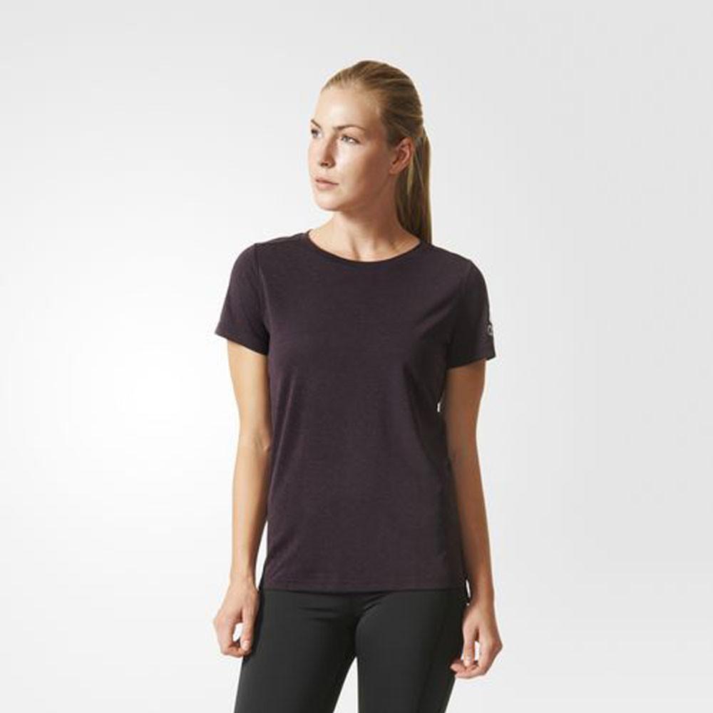 adidas climachill running women 39 s t shirt. Black Bedroom Furniture Sets. Home Design Ideas