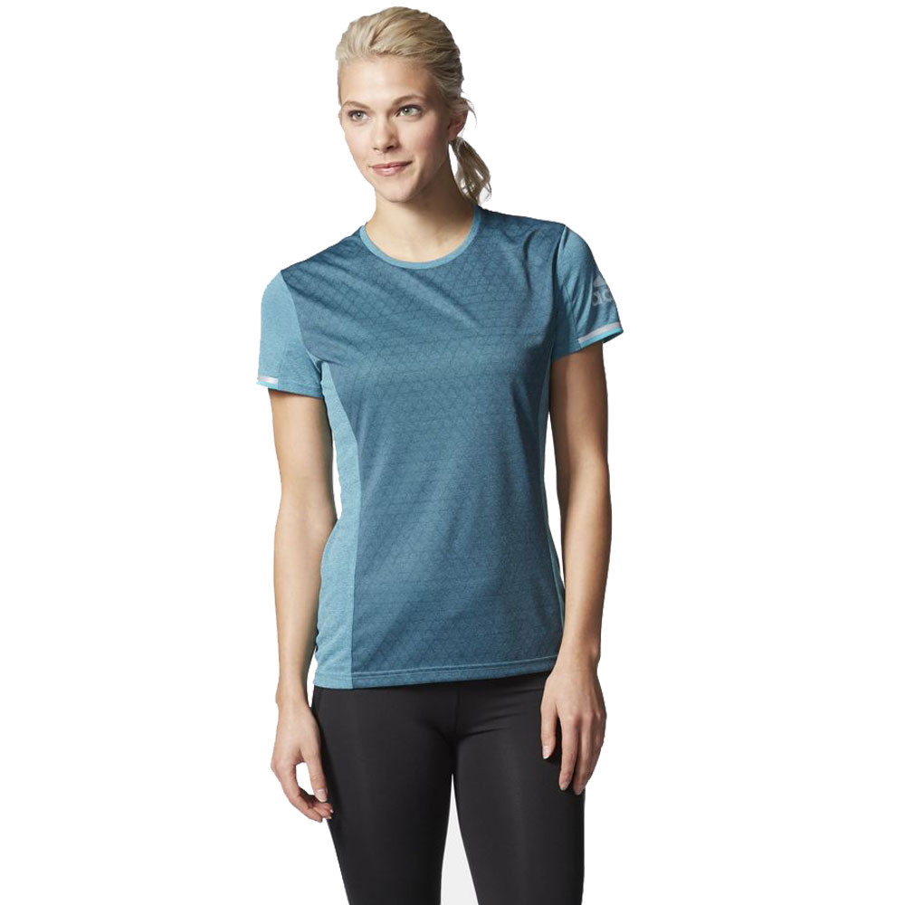 Adidas supernova climachill women 39 s running t shirt for Women s running shirts