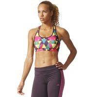 adidas Women's Racer-Back Triax Bra