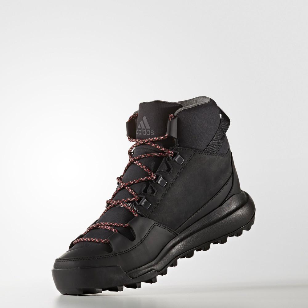 8fb23a39936f52 Adidas CW Winterpitch Mid CP Mens Black Waterproof Walking Trekking ...