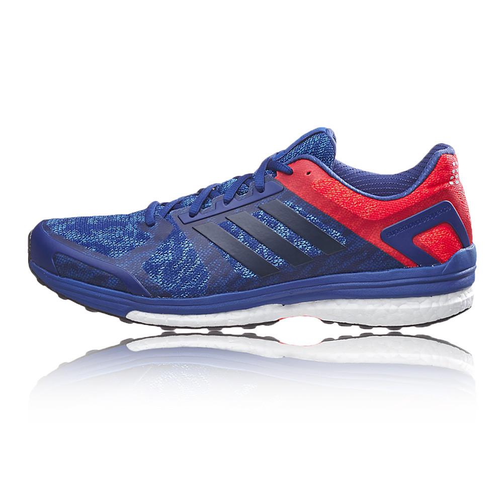 Adidas Supernova Sequence 9 hombre  rojo azul de Apoyo de zapatos para correr