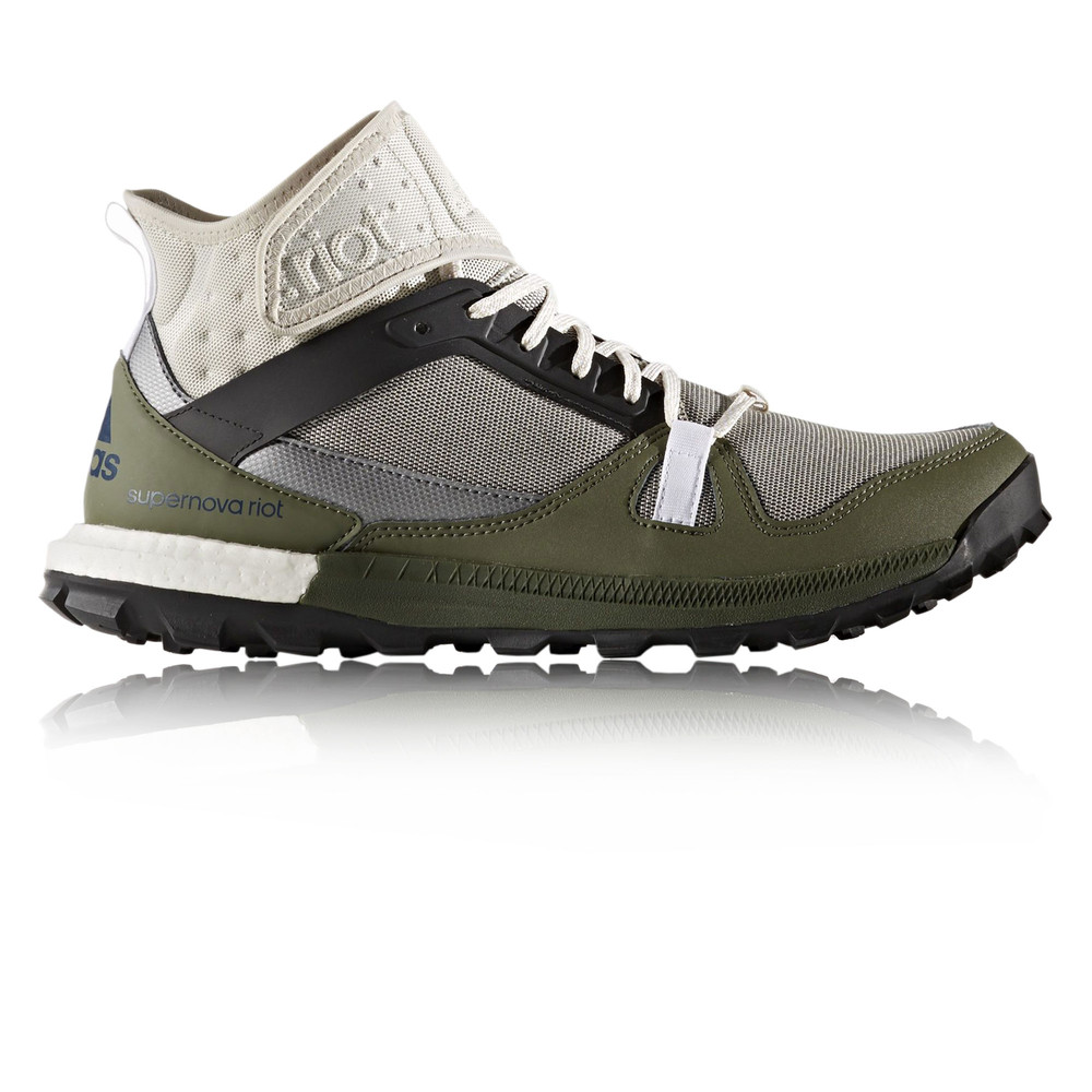 2018 Free delivery -  Adidas Supernova Riot 5 Grey Green Shoes