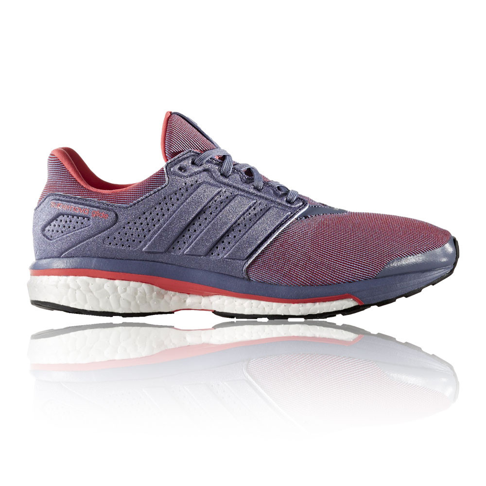 8 Purple Supernova Running Womens Adidas Shoes Cushioned Glide RqSzxWaCvw