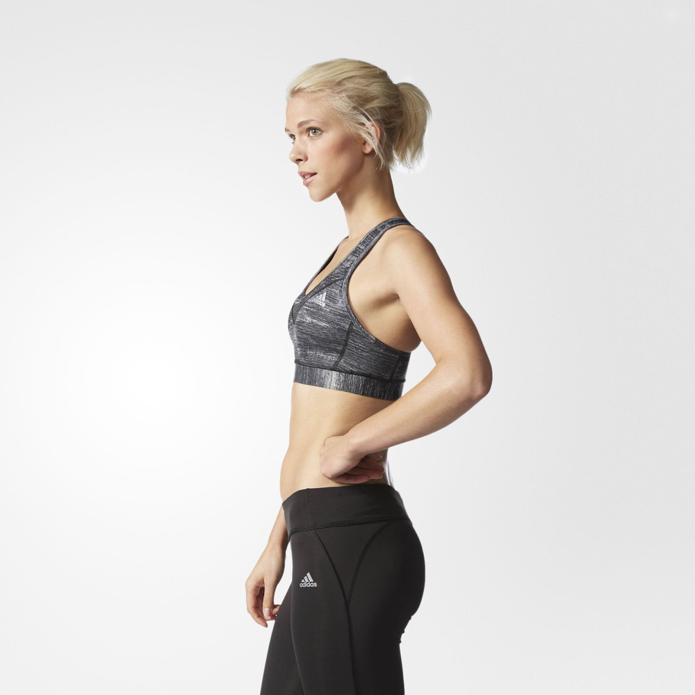 adidas medium support techfit climacool molded cup sports bra nz