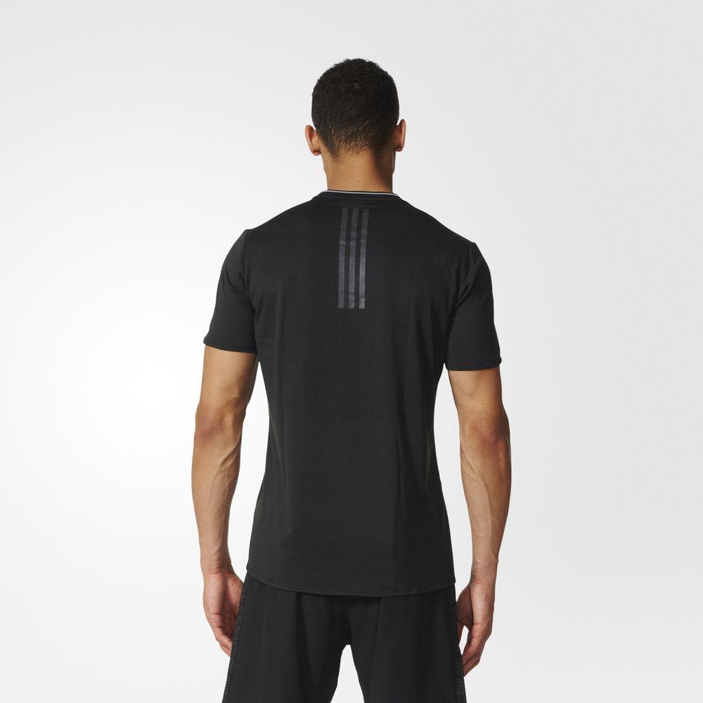 T Mens Sleeve Short Black Adidas Running Shirt Climalite Supernova qXU50xxZw