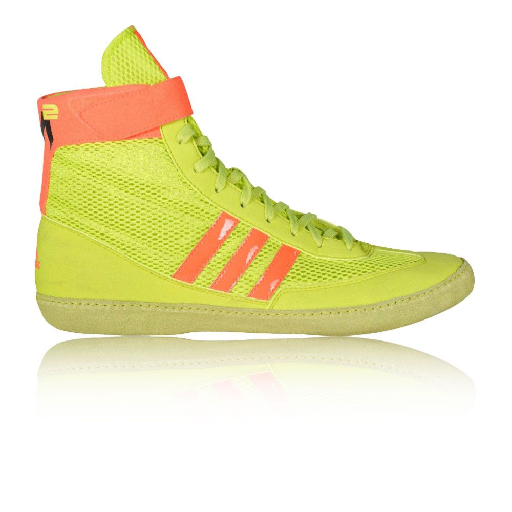 e80f7dab711 Details about Adidas Combat Speed.4.a Mens Yellow Wrestling Sports Shoes  Trainers Pumps