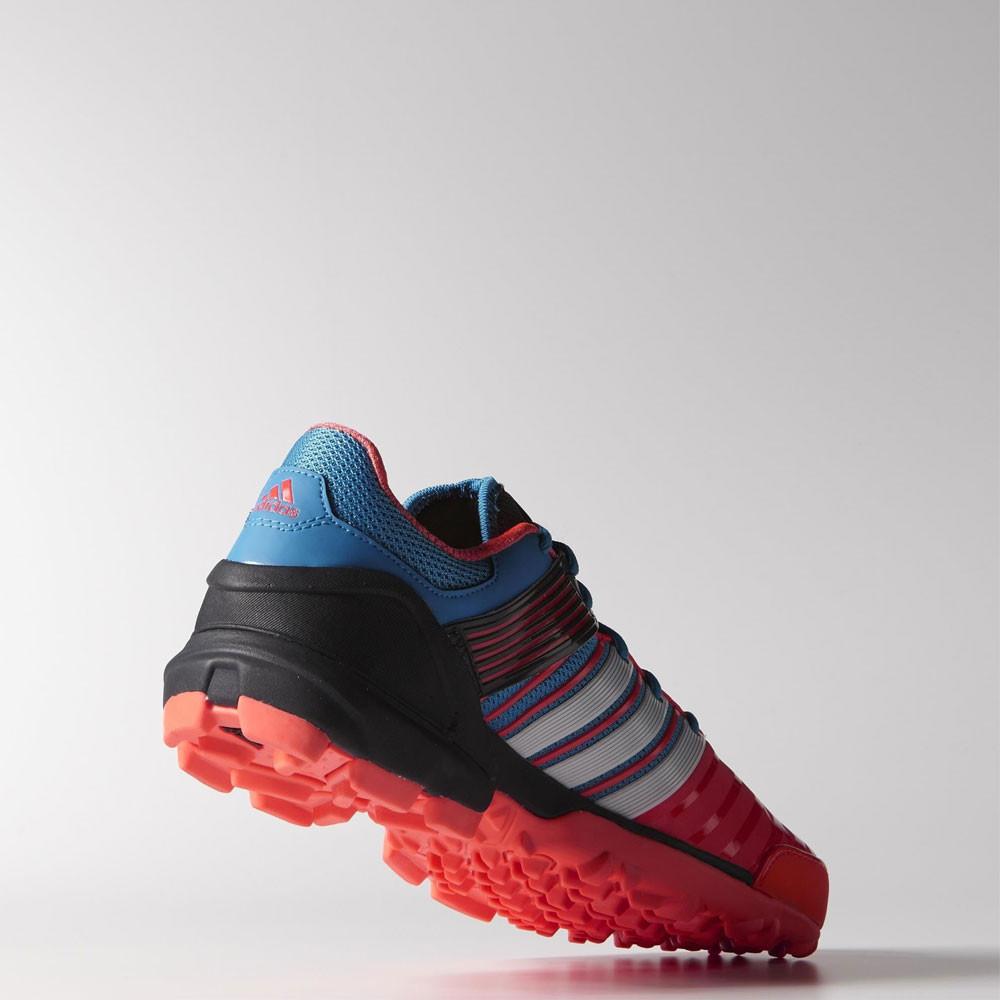 promo code 21cb1 a57aa Adidas Adipower 2 Naranja Negro Hockey Corte Deporte Zapatos Zapatillas