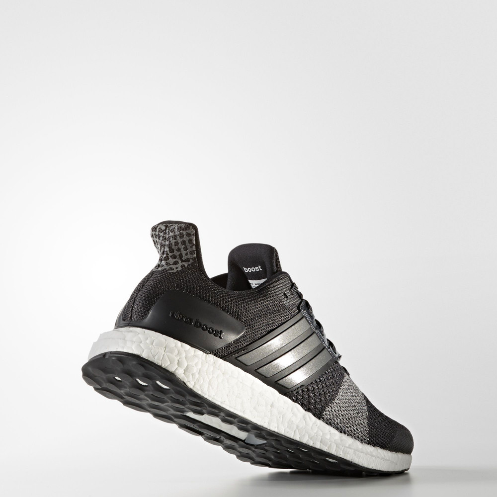 Adidas-Ultra-Boost-ST-Mens-Black-Support-Running-Road-Sport-Shoes-Trainers-Pumps