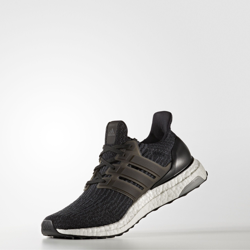 adidas boost black shoes