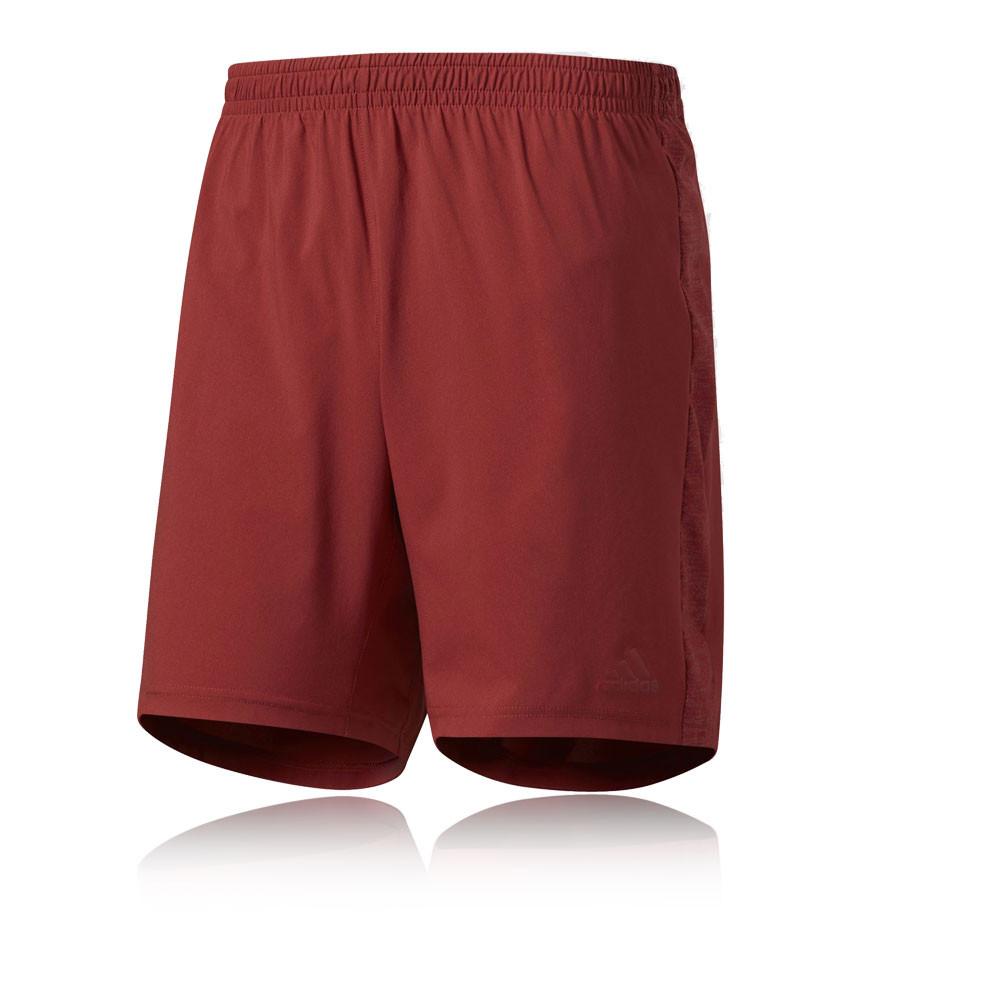 adidas supernova 5 herren sport shorts kurze hose laufhose jogginghose rot ebay. Black Bedroom Furniture Sets. Home Design Ideas