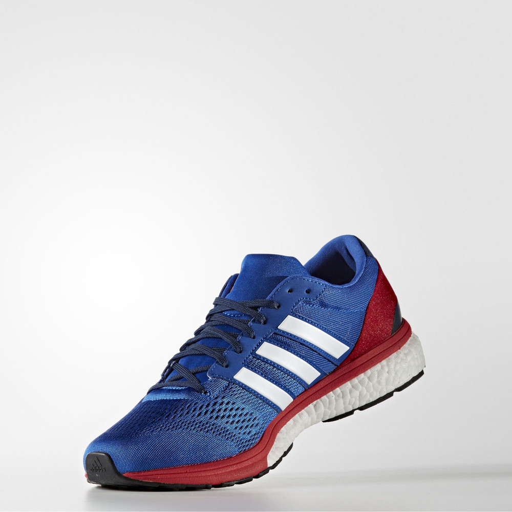 Adidas Adizero Boston 6 AKTIV Mens Blue Running Road Shoes