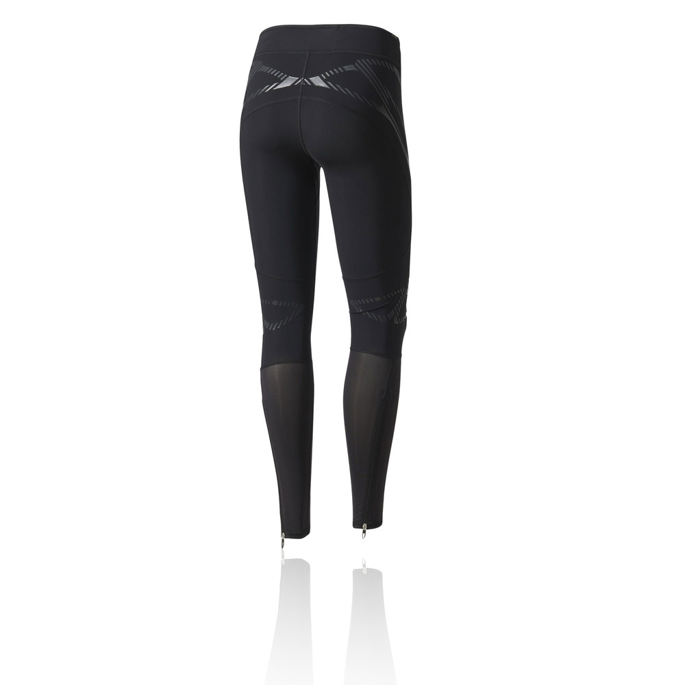 adidas adizero sw damen lang laufhose jogginghose hose sport tight schwarz ebay. Black Bedroom Furniture Sets. Home Design Ideas