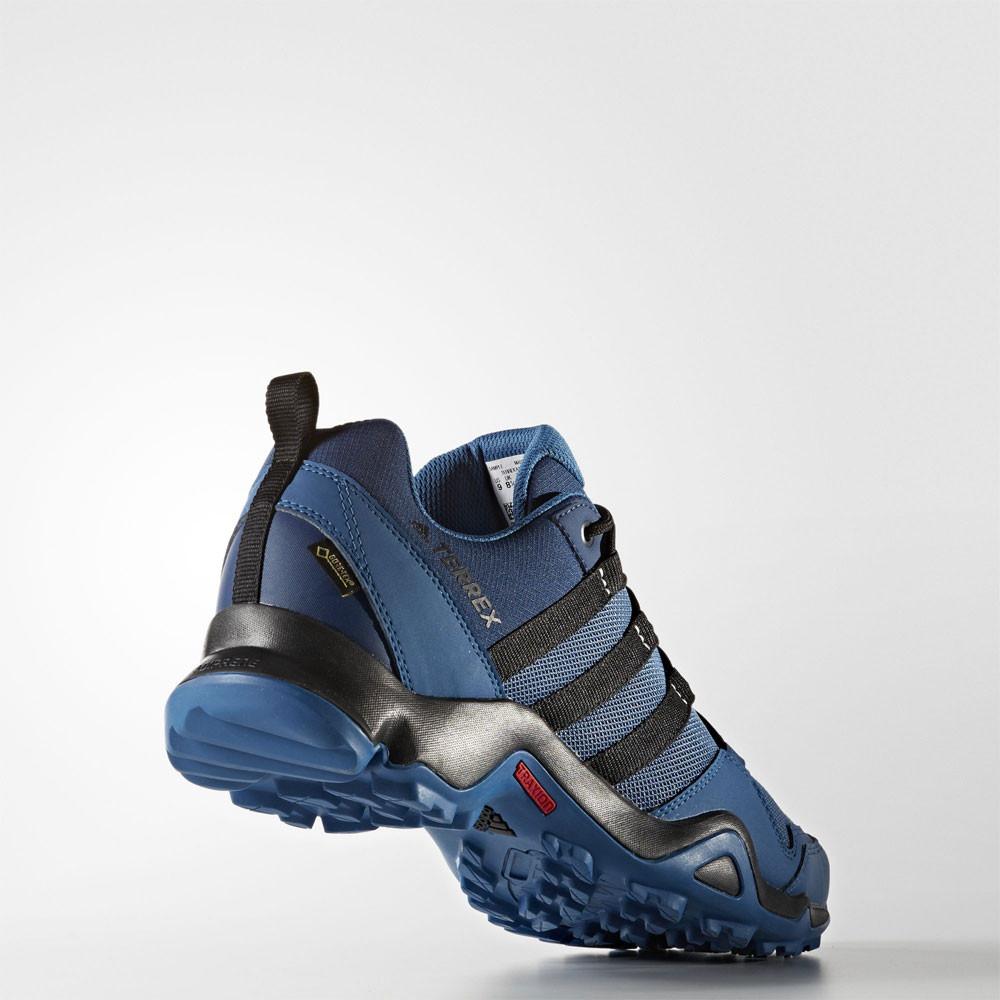 adidas terrex ax2r mens blue gore tex waterproof walking. Black Bedroom Furniture Sets. Home Design Ideas