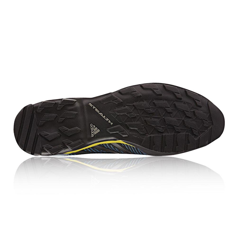 detailed look 143ed 04cc6 adidas Terrex Scope Uomo Blu Nero Impermeabile Gore Tex Scarpe da Trekking