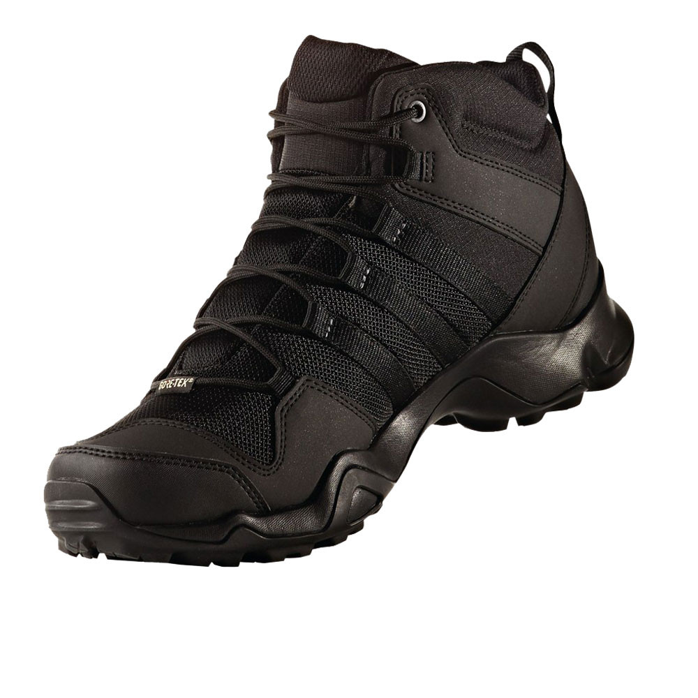 adidas terrex ax2r mid mens black waterproof tex