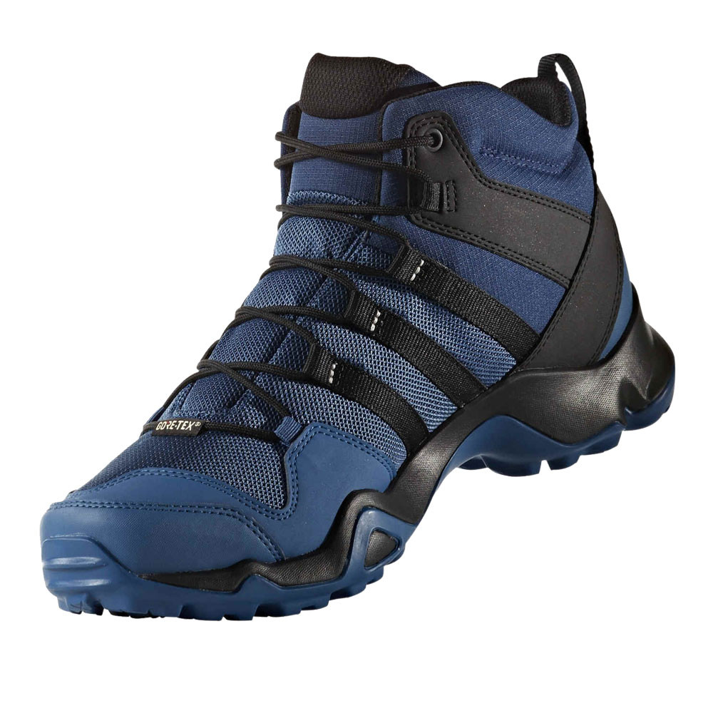 Black Blue Hiking Shoes