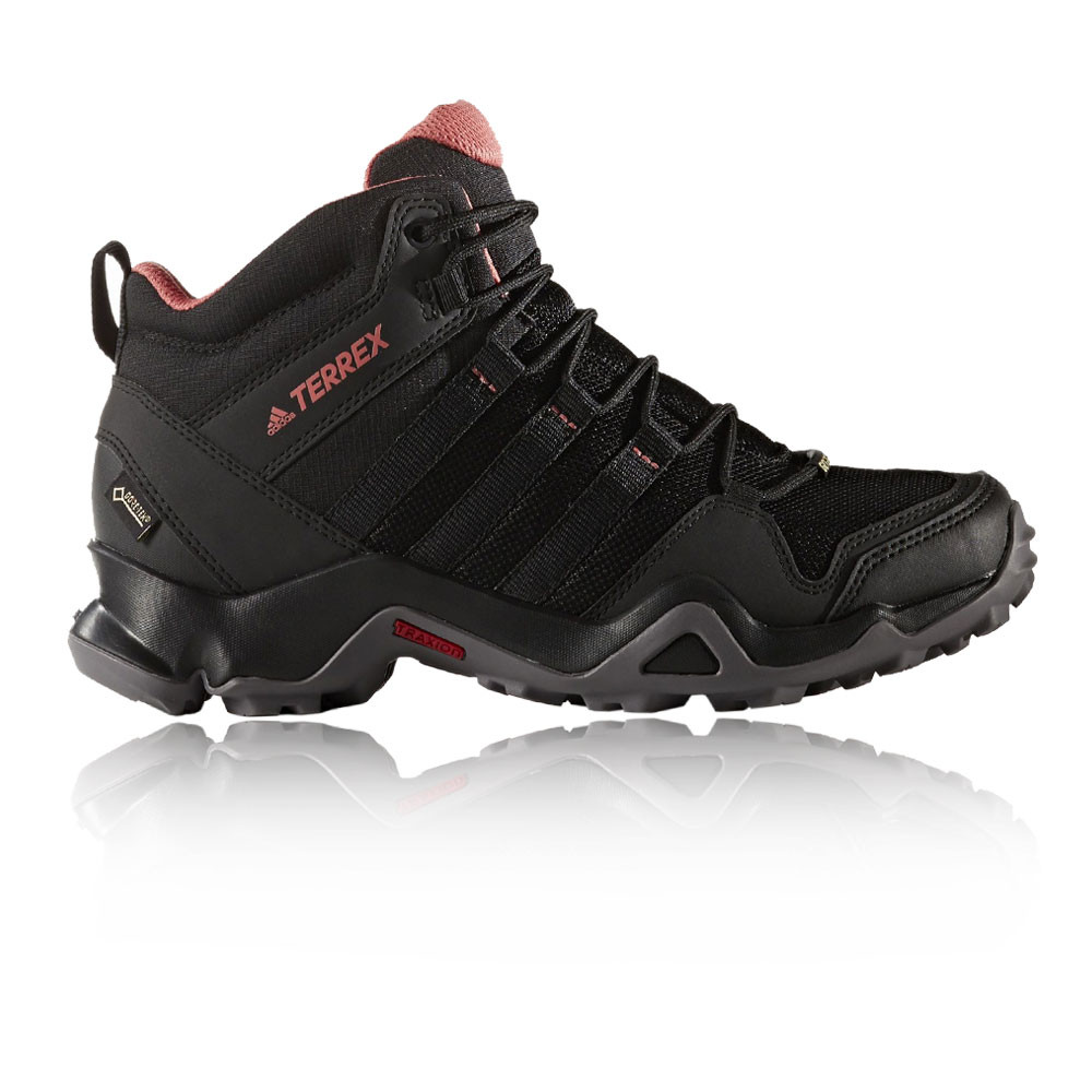 buy good autumn shoes stable quality Details about Adidas Terrex AX2R Mid Womens Black Waterproof Gore Tex  Walking Hiking Shoes