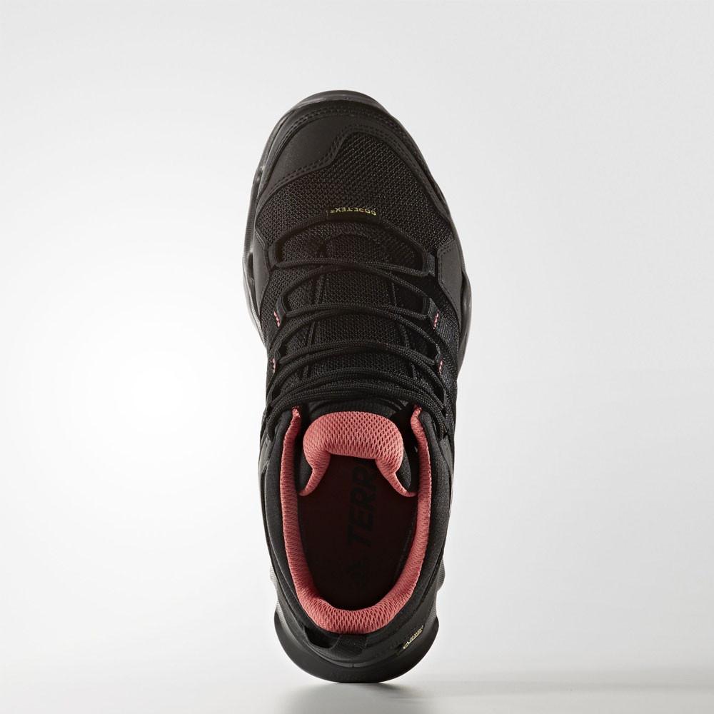 adidas terrex ax2r mid gtx damen wasserfest trekking schuhe wanderschuhe schwarz ebay. Black Bedroom Furniture Sets. Home Design Ideas
