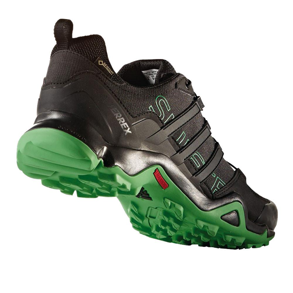 4b034b2544f55 Adidas Terrex Swift R Mens Green Black Gore Tex Waterproof Walking ...