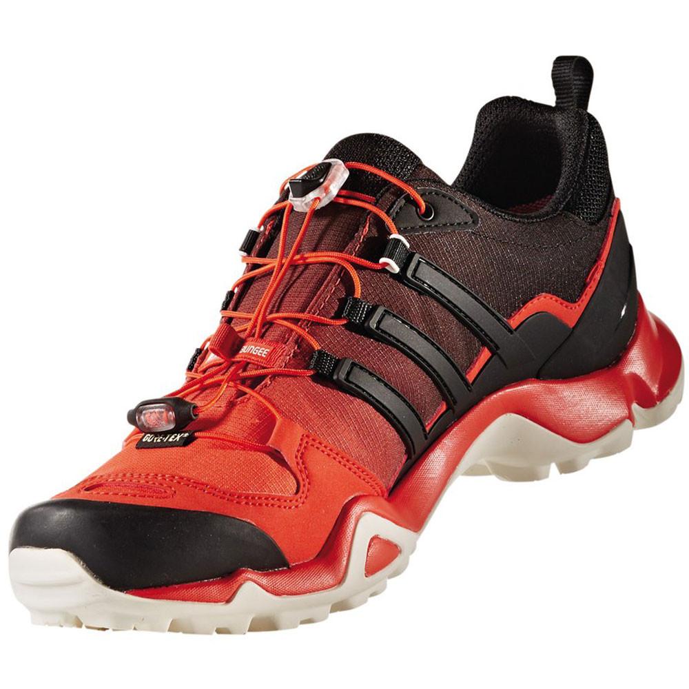 7993cc86f168d Adidas Terrex Swift R Mens Red Black Waterproof Gore Tex Walking ...