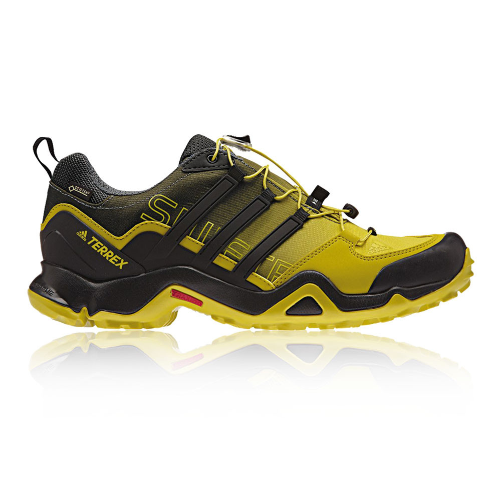 adidas terrex swift r mens yellow black waterproof gore. Black Bedroom Furniture Sets. Home Design Ideas