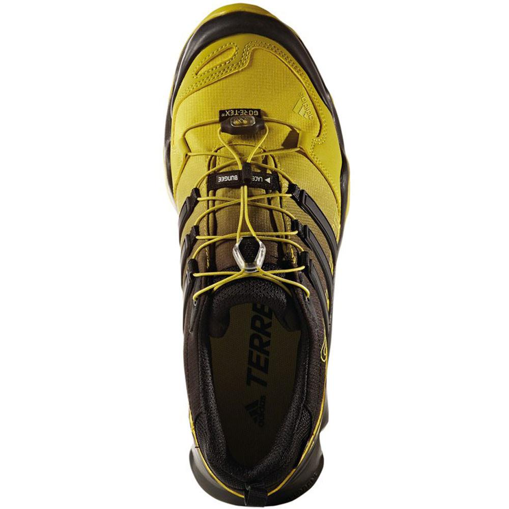 Adidas Terrex Swift R Mens Yellow Black Waterproof Gore ...