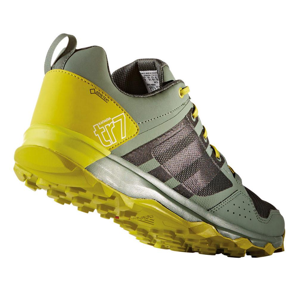 Adidas Kanadia  Trail Shoes On Feet