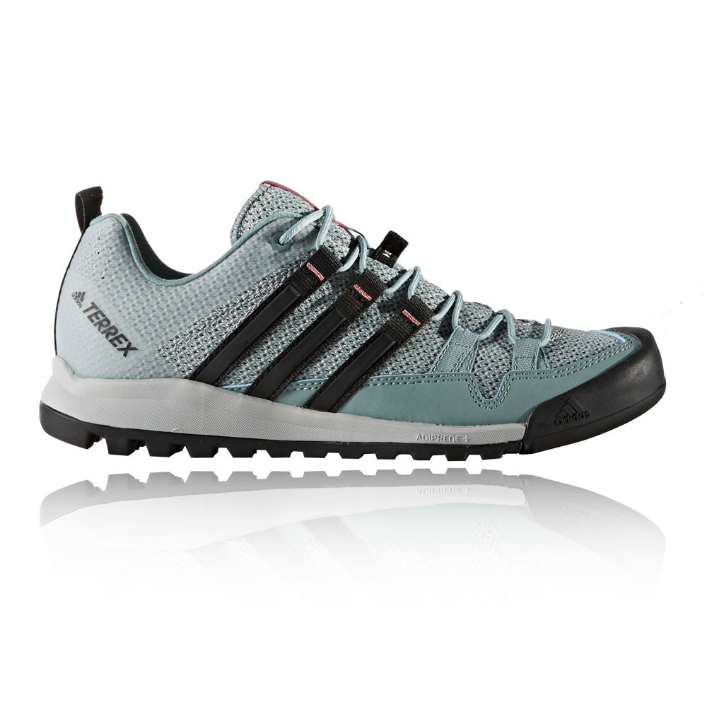 adidas terrex solo damen wanderschuhe trekking outdoor schuhe turnschuhe blau ebay. Black Bedroom Furniture Sets. Home Design Ideas