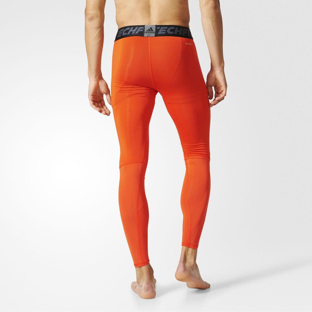 Adidas-Techfit-Tough-Mens-Orange-Compression-Long-Running-