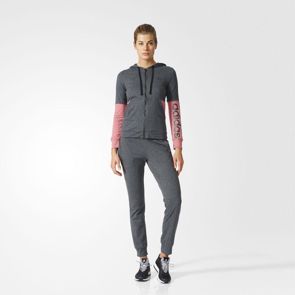 adidas marker hoodie women 39 s running tracksuit ss17. Black Bedroom Furniture Sets. Home Design Ideas