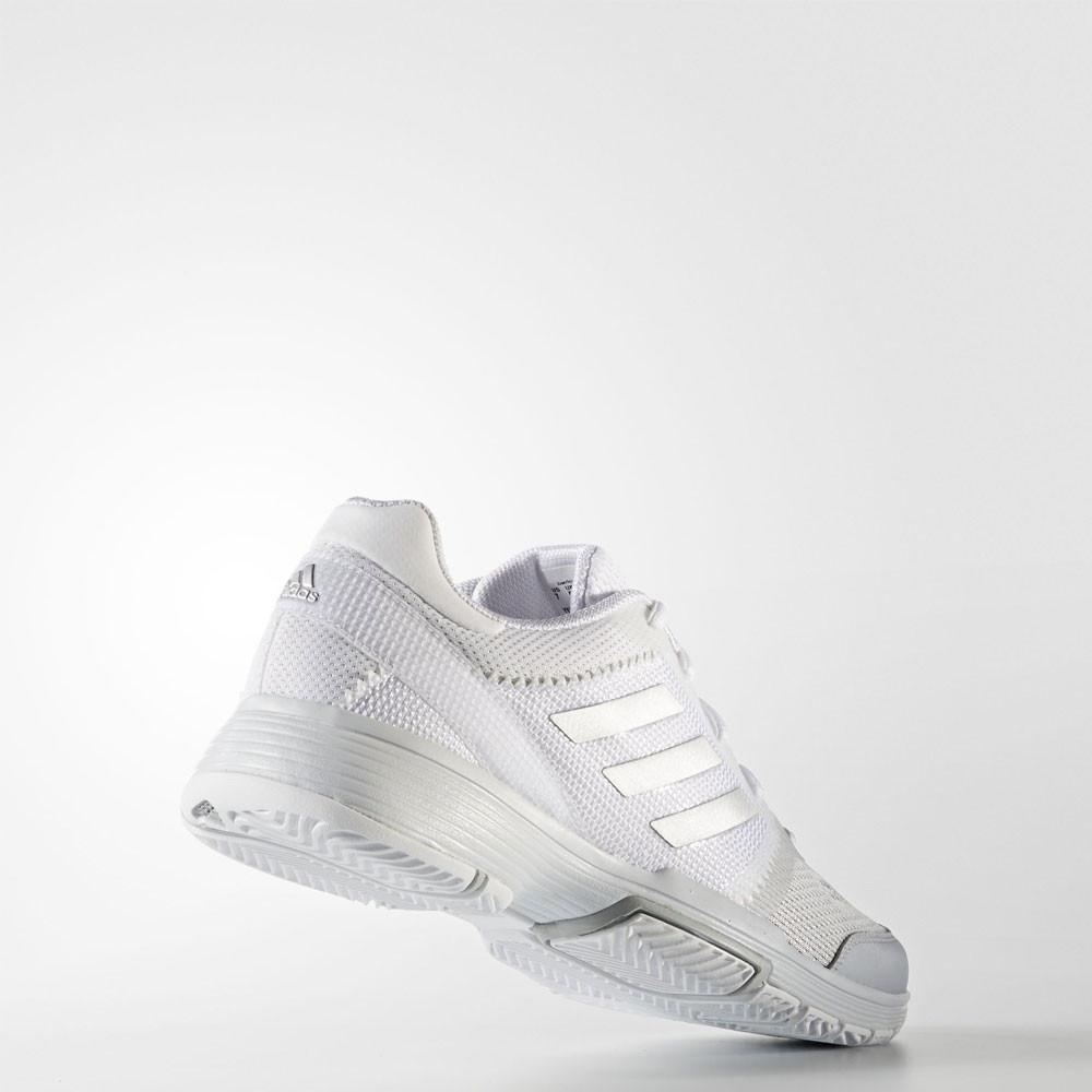 adidas barricade club womens white tennis court sneakers