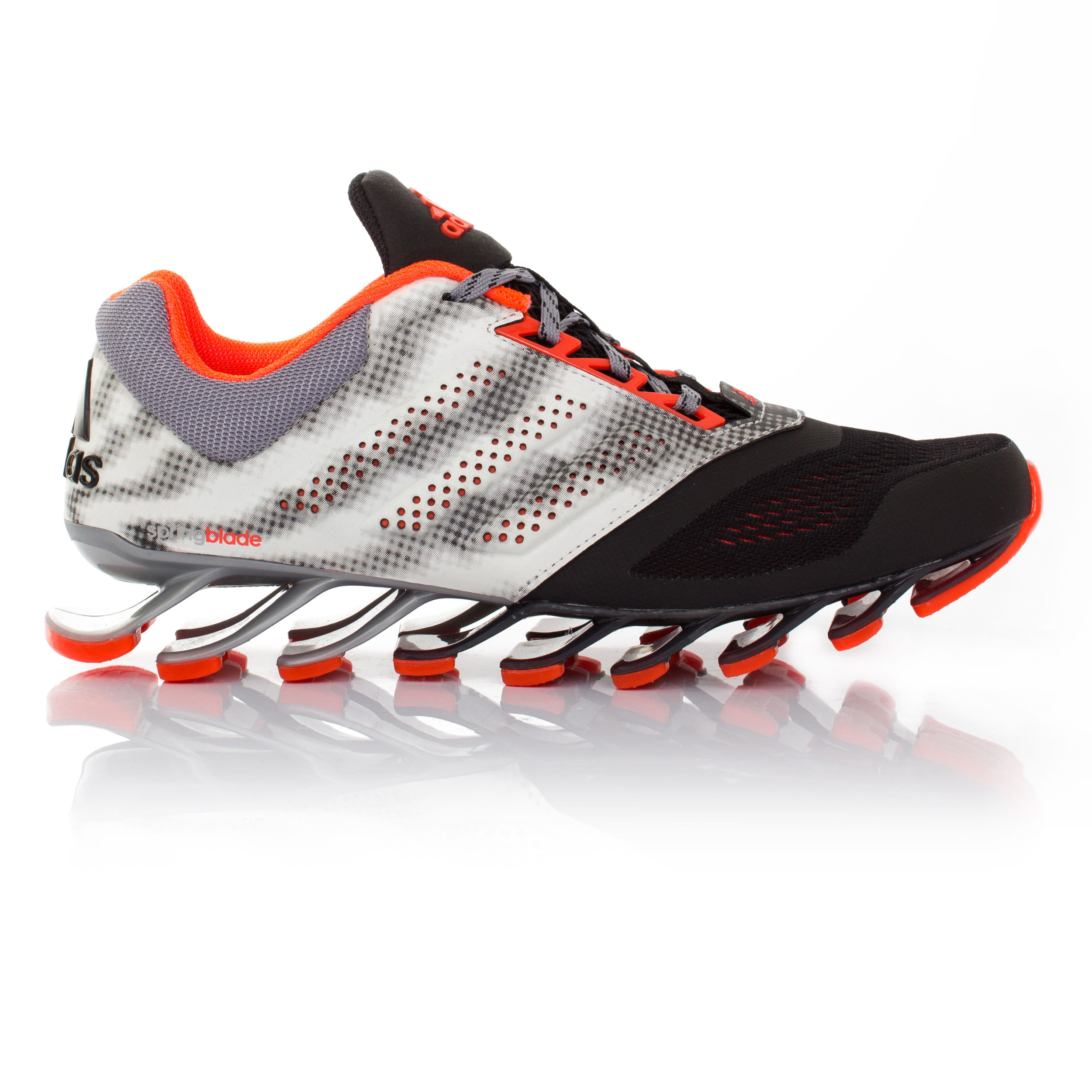 quality design 61b27 fdf49 ... Adidas-Springblade-Drive-2-Mens-White-Black-Running- Christmas Adidas  Springblade Razor Running Shoes ...
