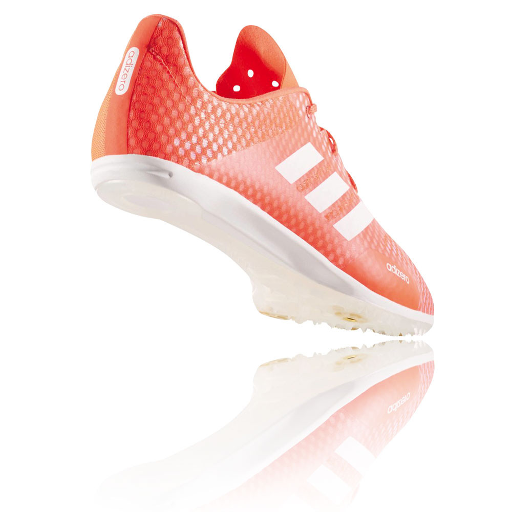 hot sale online 77cb1 e6be4 Adidas Adizero Ambition 4 Mens Orange Track Field Spikes Shoes Pumps  Trainers