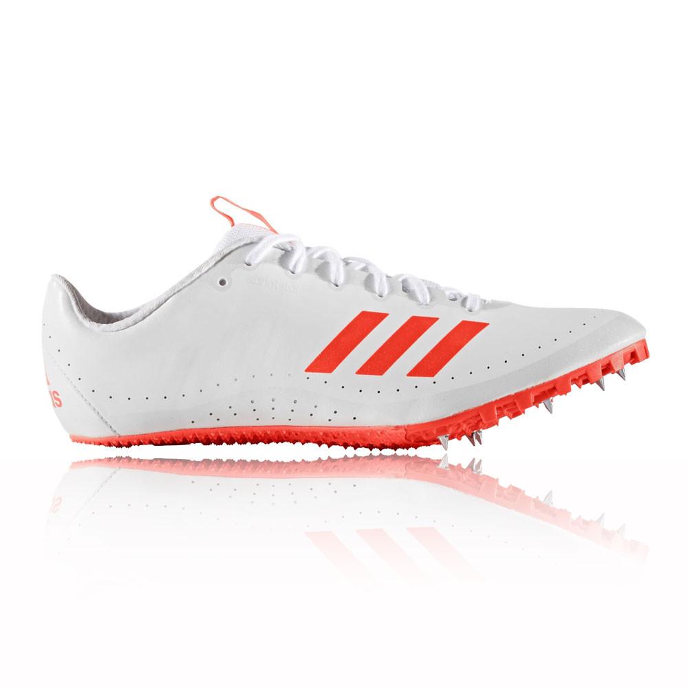Adidas-Sprintstar-Mens-White-Athletic-Field-Running-Spikes-