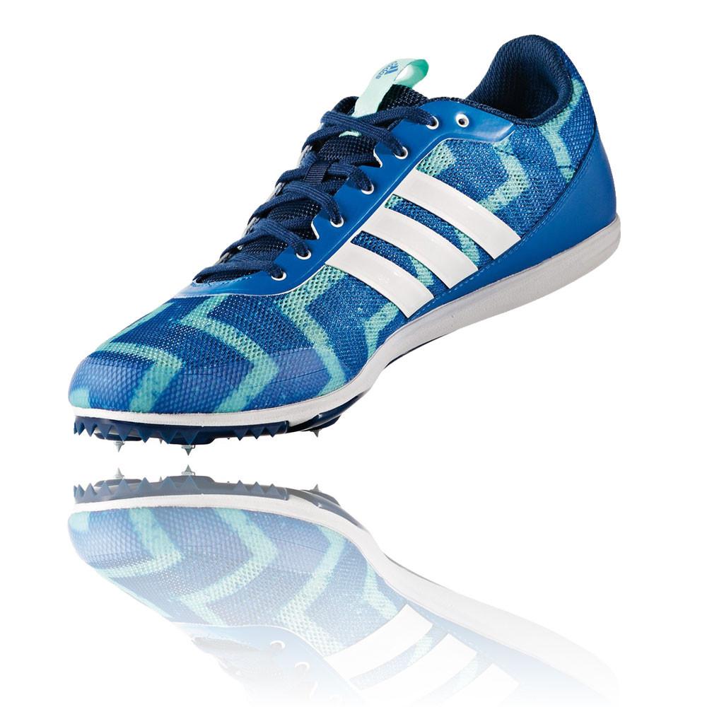 Adidas-Distancestar-Homme-Vert-Bleu-Running-Chaussure-De-Sport-Pointes-Baskets
