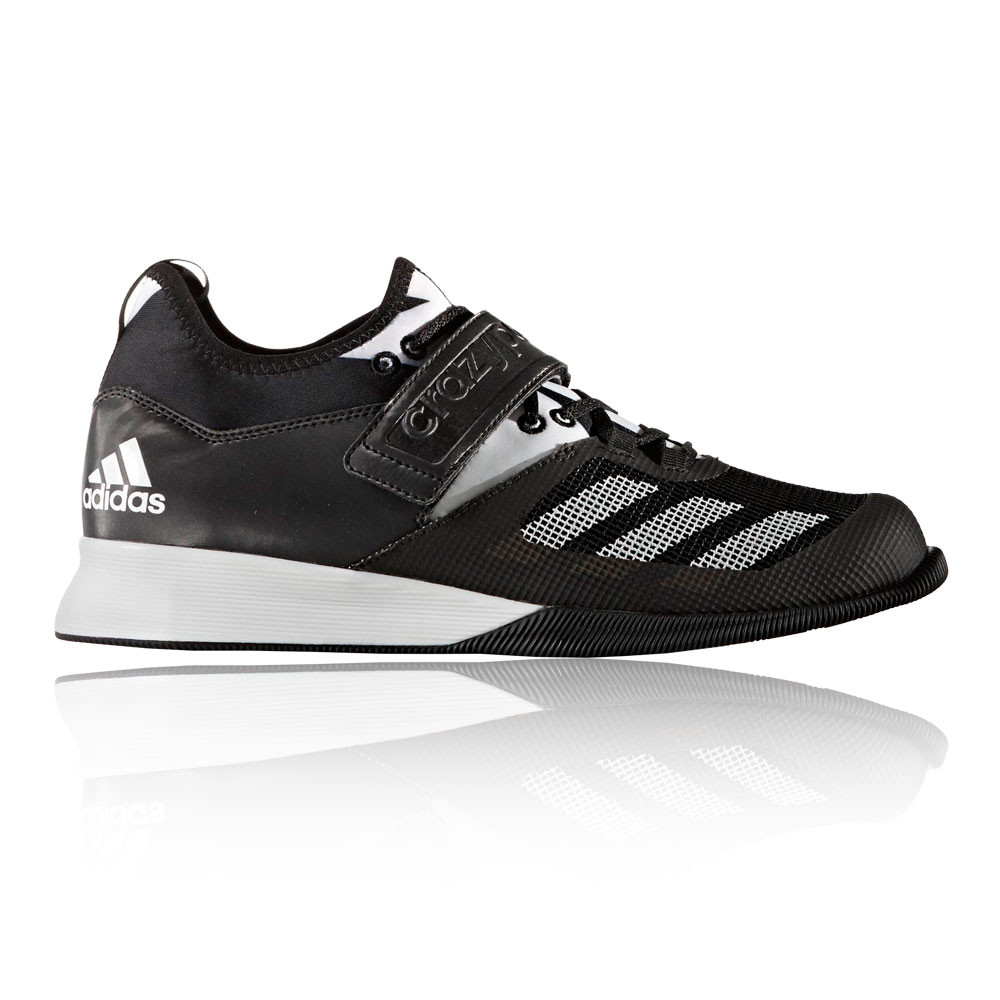 adidas crazy power herren gewichtheben schuhe sportschuhe turnschuhe schwarz ebay. Black Bedroom Furniture Sets. Home Design Ideas